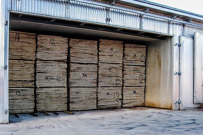 essiccazione del legno