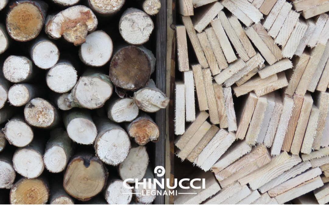 le caratteristiche delle due tipologie di legno massello e lamellare