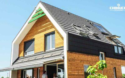 Casa passiva: tetti in legno e particolari costruttivi
