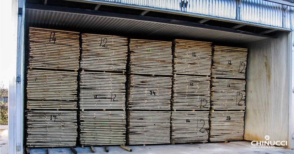 essiccazione legno